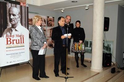 L'exposició de Brull es trasllada a Sant Cugat.