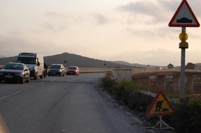 La reparació del pont de la Ferreria es farà la primera setmana d'abril.