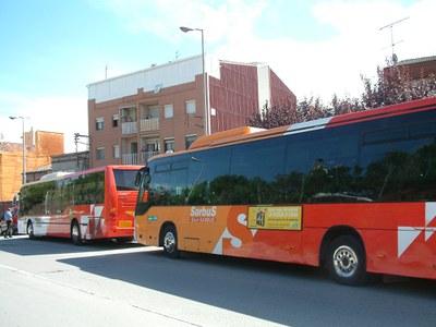 La UGT evita noves vagues d'autobusos a Ripollet i Cerdanyola.