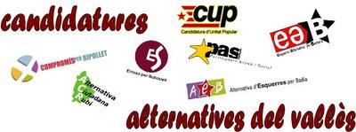 Les Candidatures Alternatives del Vallès es reuneixen a Ripollet per parlar d'infraestructures.