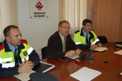 La taxa de criminalitat de Ripollet és inferior a la mitjana catalana.