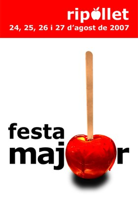 Publicades les bases del Concurs de Cartells de Festa Major de 2008.