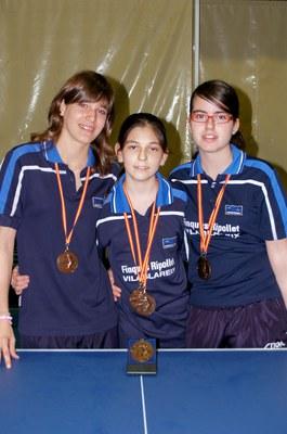 El Finques Ripollet aconsegueix quatre medalles de bronze als Campionats d'Espanya Infantils .