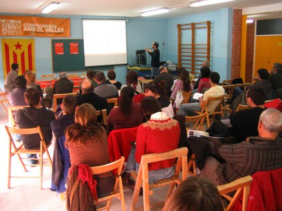 Jornada Comarcal de les Candidatures Alternatives del Vallès sobre infrastructures a Ripollet.