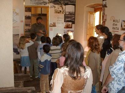 Tallers per a tota la família al Centre d'Interpretació del Patrimoni Molí d'en Rata.