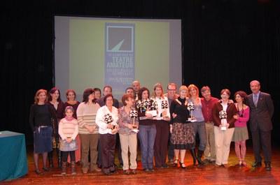 La Lliçó guanya el primer premi del Concurs de Teatre Valentí Velilla.