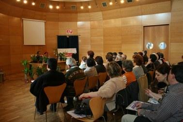 Segona sessió de jardineria ecològica al Centre Cultural.