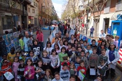 L'associació de veïns de Can Mas entrega els premis del seu 29è Concurs Infantil de Dibuix .