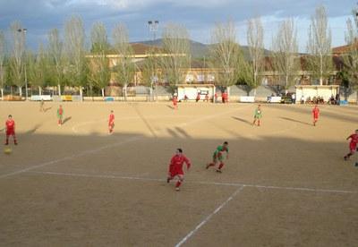 Resultats de la jornada esportiva del 12 i 13 d'abril .