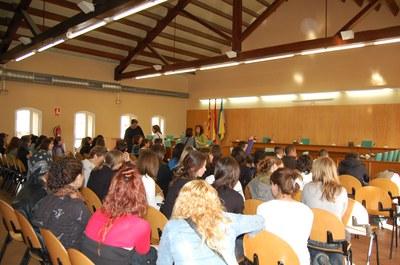 Alumnes de la localitat francesa de Set visiten Ripollet.