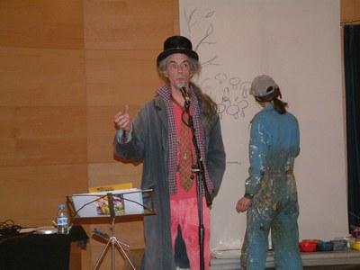 Casasses i Hagemann mostren el seu procés creatiu al Centre Cultural.