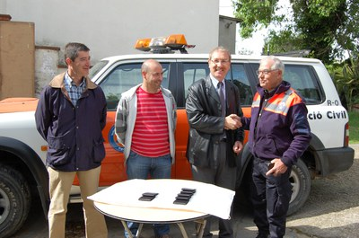 El cos de Protecció Civil de Ripollet s'amplia amb 10 nous membres.