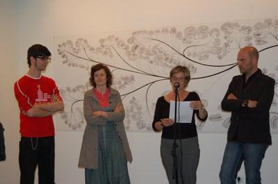 S'inaugura la mostra 'Jo entre tu' al Centre Cultural.