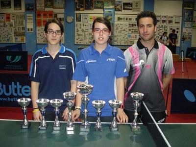 Èxit del Club Tennis Taula al Campionat de Catalunya Absolut.