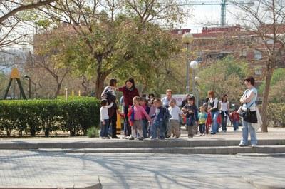 Nous itineraris per anar a peu a l'escola.