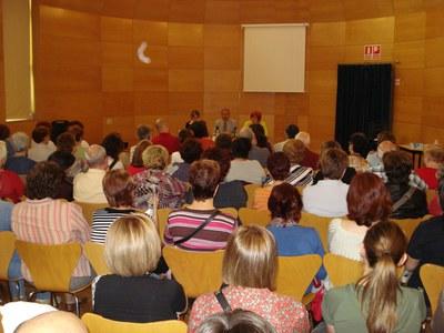 Es presenta l'Associació Ripollet, de fibromiàlgia i síndrome de fatiga crònica.