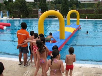 Nova temporada de la piscina descoberta.