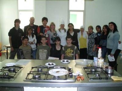 Finalització del curs de cuina jove al Centre Cultural .