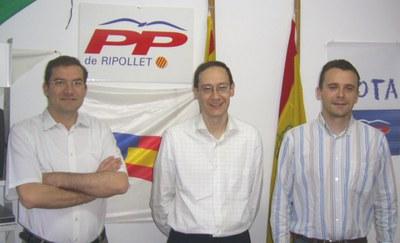 El PP de Ripollet participa al congrés català del seu partit.