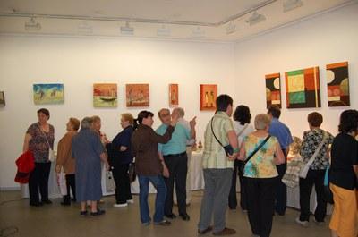 Inaugurades les mostres dels tallers d'arts decoratives del Centre Cultural.