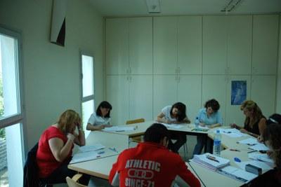 Fi de curs dels cursos de català.