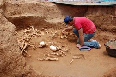 Visita guiada al jaciment arqueològic dels Pinetons.
