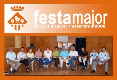 Es presenta el programa de Festa Major 2008 amb nous espais al carrer.