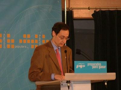 Pere Calviño nou membre del comitè executiu del PP de Catalunya.