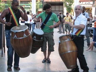Bona acollida del XIII Festival de Músiques del Món de Ripollet.