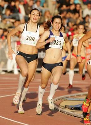 Sonia Mañas tercera al Campionat d'Espanya Juvenil als 3.000 metres llisos.