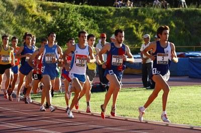 Félix Acero, 8è en 1500 metres al Campionat d'Espanya Promesa.