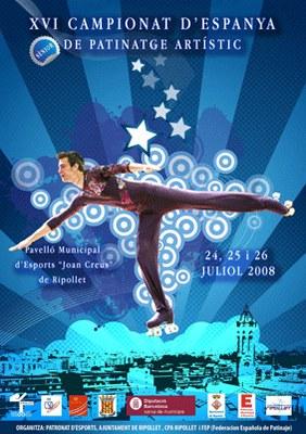 Ripollet acull el XVI Campionat d'Espanya de Patinatge Artístic.