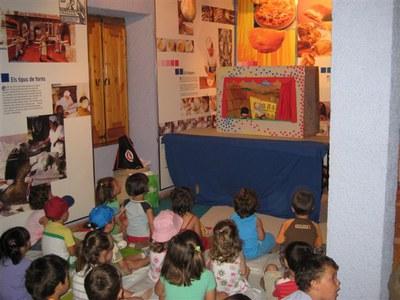 Un miler de nens i nenes visiten el Molí d'en Rata de Ripollet.