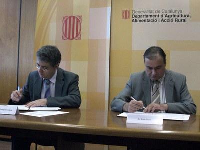 Generalitat i Hostaleria signen un conveni per promocionar els productes amb DO de Catalunya.