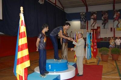 Gran èxit del Campionat d'Espanya de Patinatge i Or per Carles Gasset.