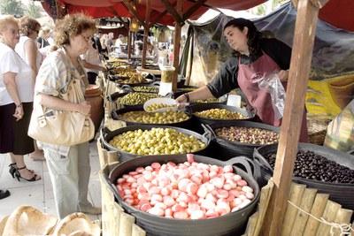 FESTA MAJOR 2008: Aquesta festa, un dia més de Mercat Medieval.