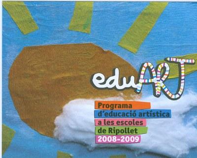 Es presenta el nou programa de l'EduArt a les escoles de Ripollet.