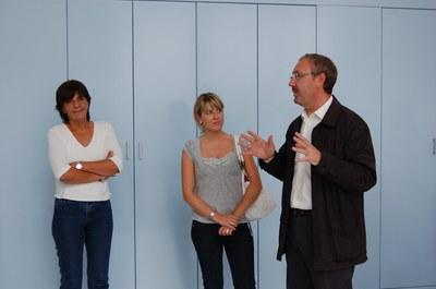 Els regidors i regidores de l'Ajuntament visiten la Llar d'Infants Municipal.