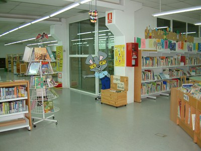 La Biblioteca reprèn les activitats del Nascut per Llegir.