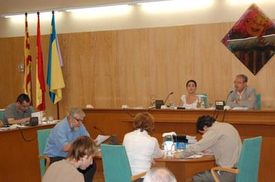 Sessió del Ple Municipal del 25 de setembre de 2008.