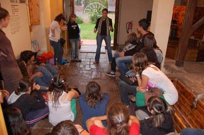 Els joves, protagonistes de les Jornades Europees de Patrimoni.