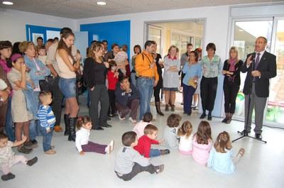 Festa d'inauguració de la Llar d'Infants Municipal La Verema.
