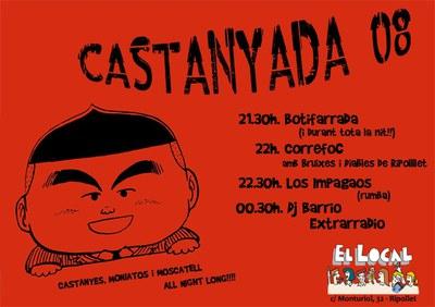 El Local celebra la Castanyada .