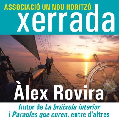 L'escriptor Àlex Rovira participa en una xerrada de l'associació Un Nou Horitzó.