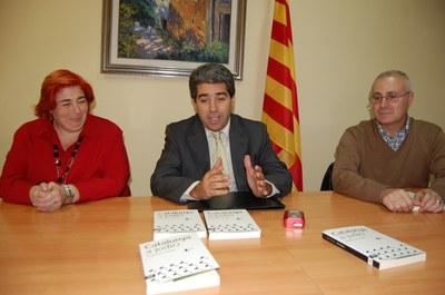 """Francesc Homs presenta a Ripollet el seu llibre """"Catalunya a judici""""."""