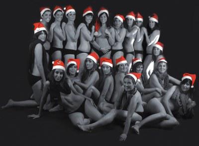 El Can Clos Femení, de futbol Sala, presenta l'equip i un calendari de Nadal.