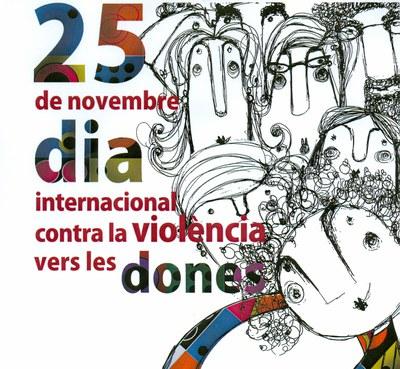 25 de novembre, Dia Internacional contra la violència vers les dones.