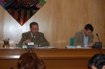 Ple Municipal del 27 de novembre de 2008.