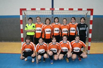 L'AV Can Clos Futbol Sala Femení presenta els seus equips.