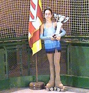 Noelia Padilla s'emporta el trofeu Enric Roca.